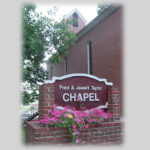 Co-Lin Chapel Sign