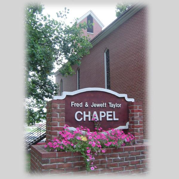 Co-Lin Chapel Sign