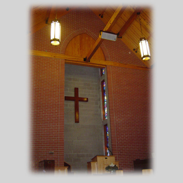 The Interior of Co-Lin Chapel