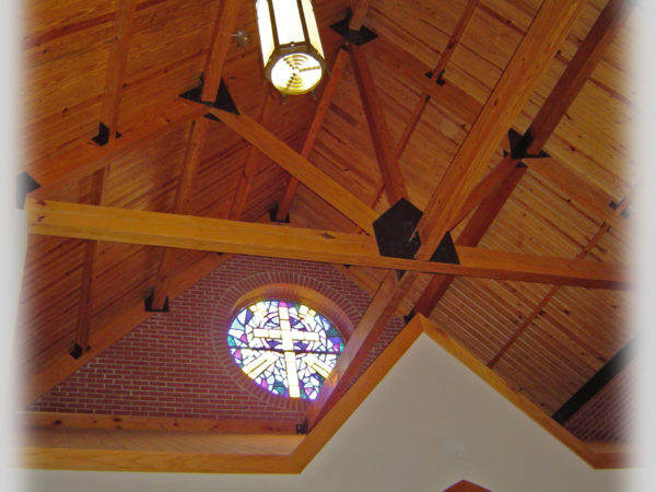 Co-Lin Chapel Ceiling Background