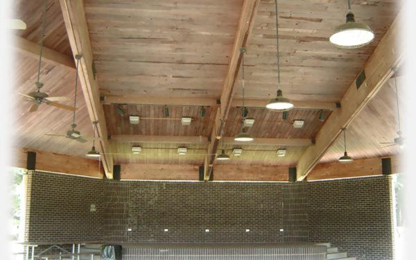Pavilion Ceiling Background